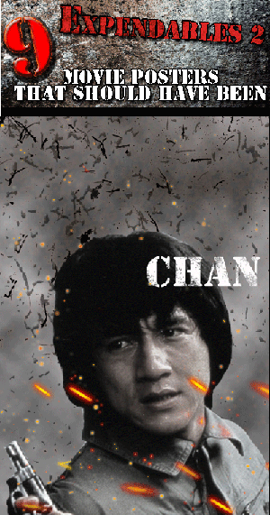 Expendables 2 Movie Posters That Should Have Been