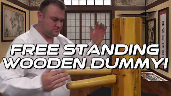Free-Standing Wing Chun Wooden Dummy Product Review at