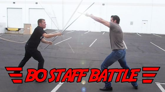 Bo Staff Battle: Steel vs  High Strength Aluminum