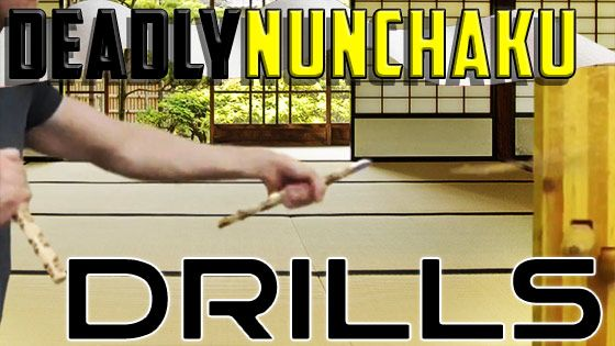 Deadly Nunchaku Striking Drills to Improve Your Speed and Aim