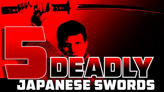 Five Types of Deadly Japanese Swords