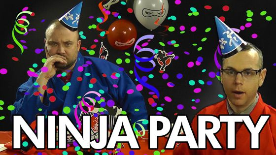 How to Throw an Epic Ninja Party