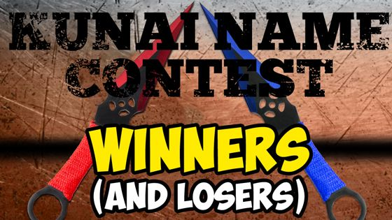 Kunai Naming Contest Winners