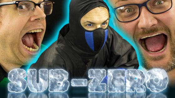 Make Your Own Sub-Zero Halloween Costume