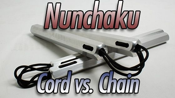 Metal Nunchaku: Nylon Cord vs. Chain