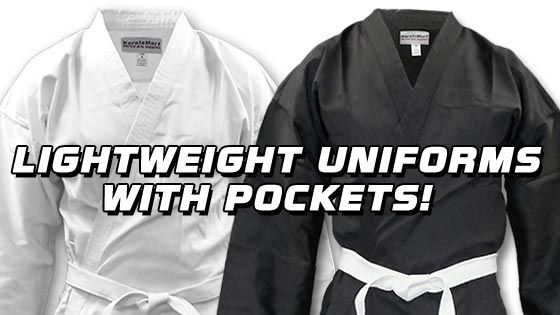 New Lightweight Karate Uniform for the Modern Martial Artist