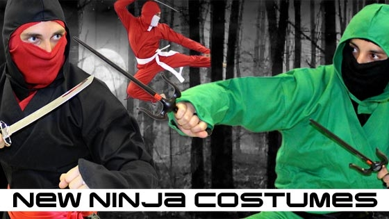 New Ninja Costumes for 2014