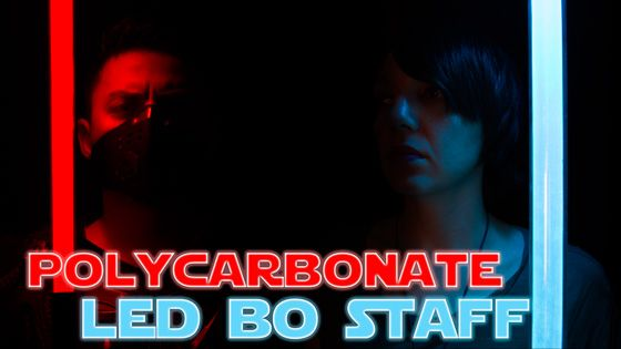 New Polycarbonate LED Bo Staff