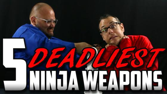 Our Five Deadliest Ninja Weapons