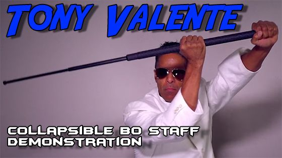 Tony Valente and the Collapsible Bo Staff Demonstration