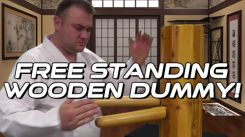 Free-Standing Wing Chun Wooden Dummy Product Review
