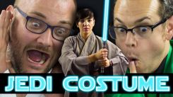 Make Your Own Jedi Halloween Costume