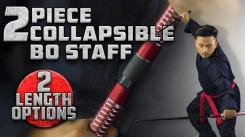 New 2-Piece Collapsible Bo Staff