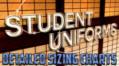 New Detailed Uniform Sizing Charts