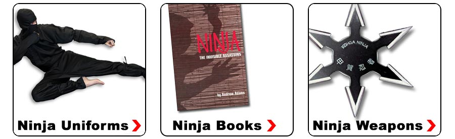 Click Here for Ninja Gear