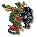 Dragon And Animal Patches