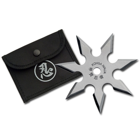 7 Point Silver Throwing Star