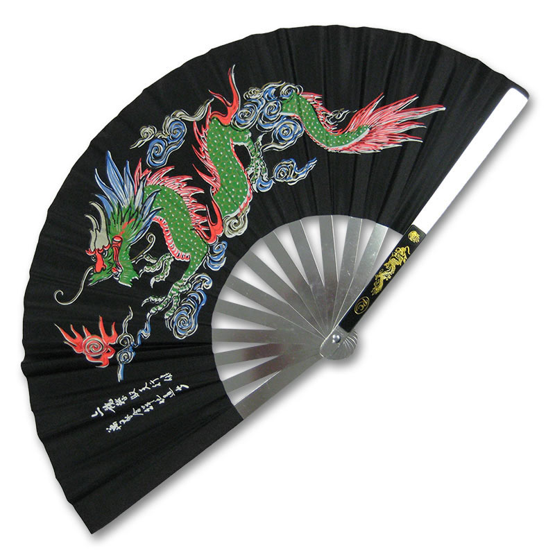 Japanese Hand Fans - Chinese Fighting Fan - Hand Held Tessen