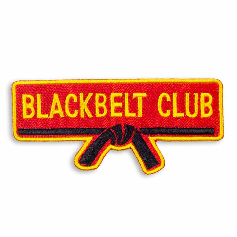 Blackbelt Club Membership Patch