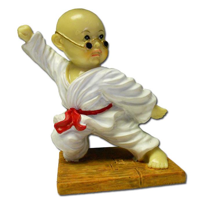 blocking kung fu monk shaolin monk resin statues martial arts resin figurine. Black Bedroom Furniture Sets. Home Design Ideas