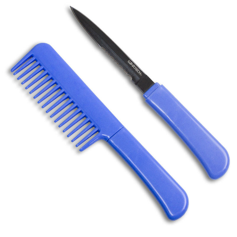 Blue Comb Knife