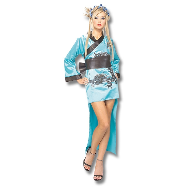 Blue Dragon Lady Costume