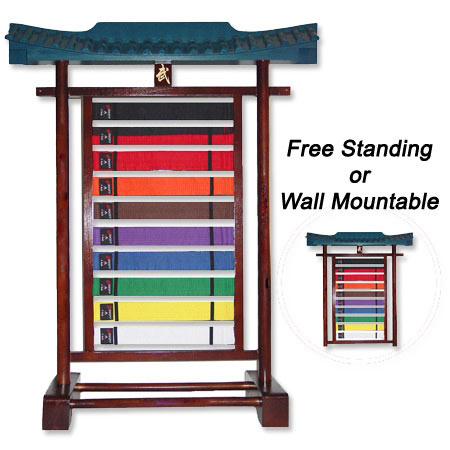Belt Display You Ve Worked Hard To Earn Your Martial Arts