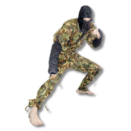 Camouflage karate gi