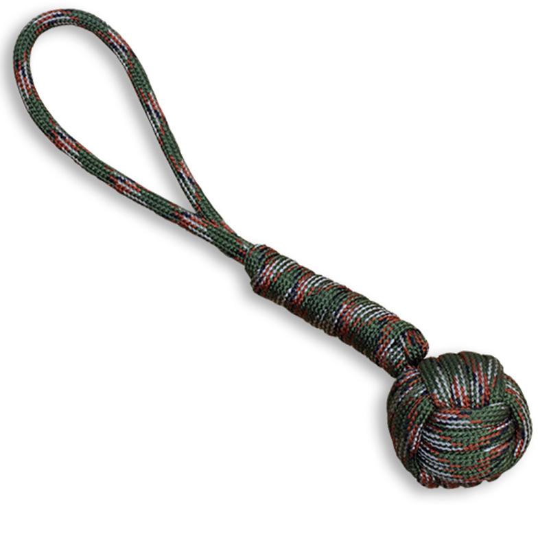 7063c047bb6 Camouflage Steel Monkey Fist Keychain