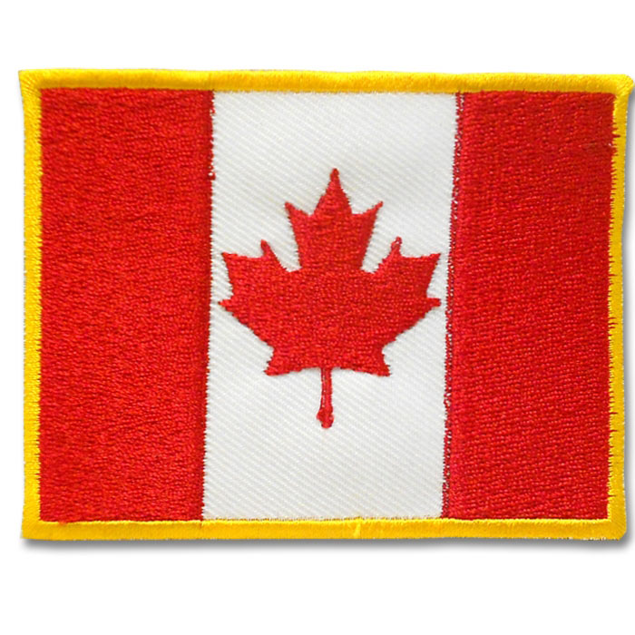 Canadian Flag Patch (13 left In Stock)
