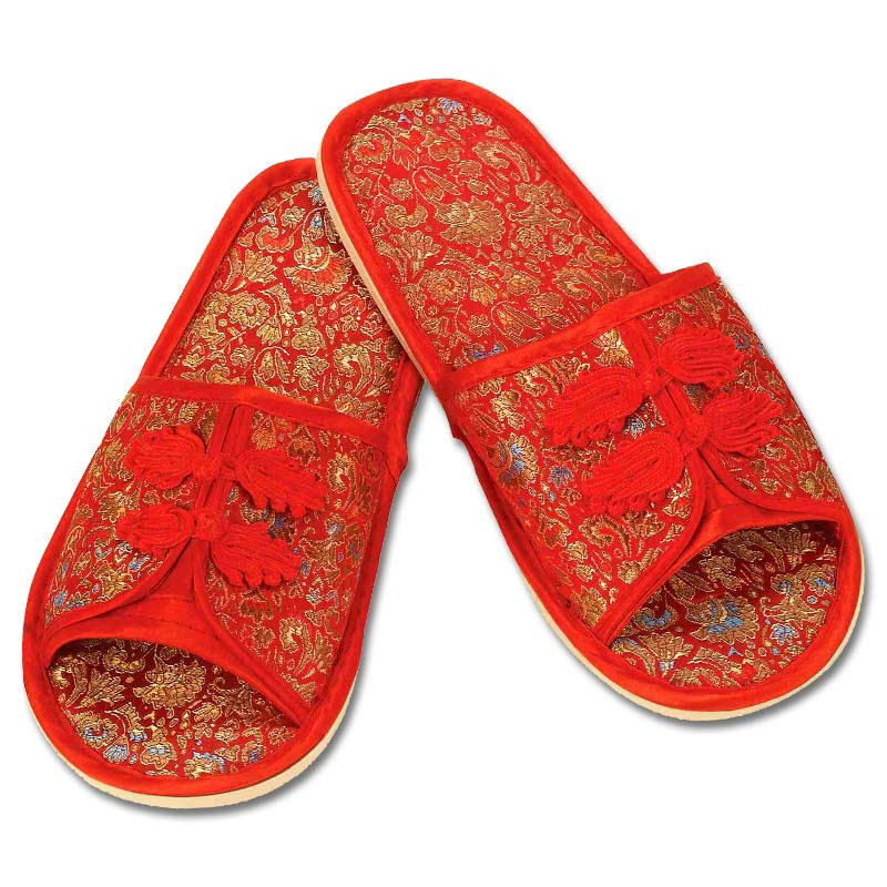 Chinese Costume Slippers  sc 1 st  KarateMart & Chinese Costume Slippers - Asian Halloween Sandals | KarateMart.com