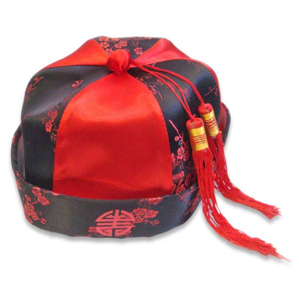Chinese Mandarin Hat  sc 1 st  KarateMart & Chinese Mandarin Hat - Kids Kung Fu Hat - Oriental Costume Hat