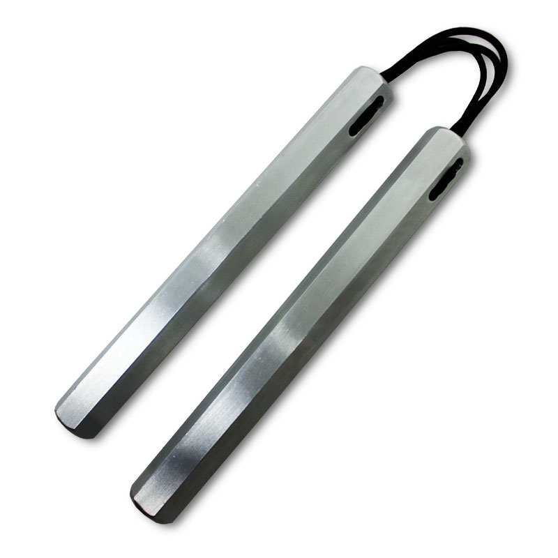 Corded Aluminum Hexagon Nunchaku
