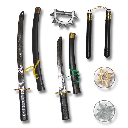 Deluxe Ninja Weapons Pack