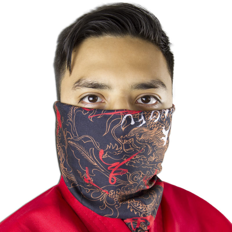 Kung Fu Half Mask (4 Left In Stock)