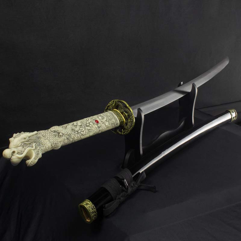 Dragon Handle Samurai Sword