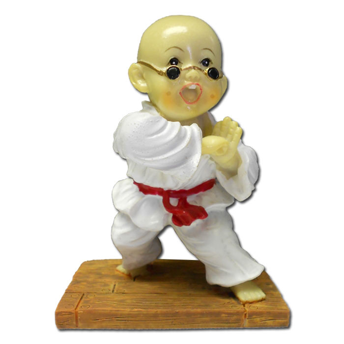 elbow strike kung fu monk resin martial arts figurines resin shaolin monk statue. Black Bedroom Furniture Sets. Home Design Ideas