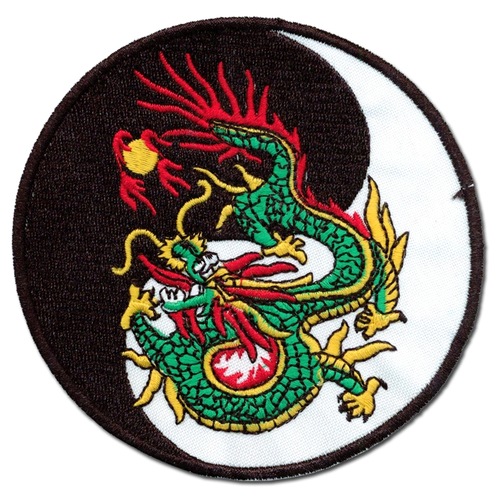 Fire Dragon Yin Yang Patch