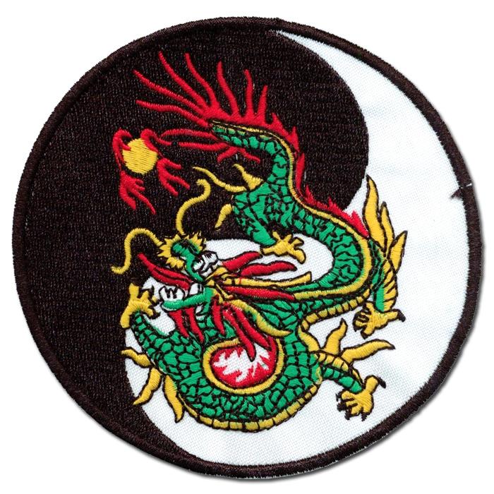 Tiger Dragon Kenpo Karate Patch - Kenpo Karate Patches - Karate Gi ...