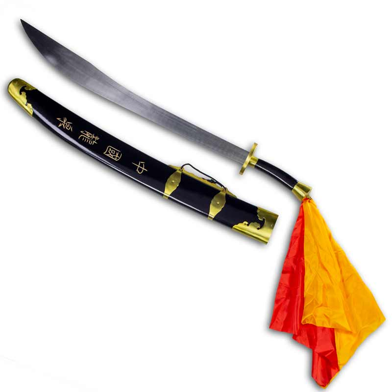 Flexible Chinese Broadsword