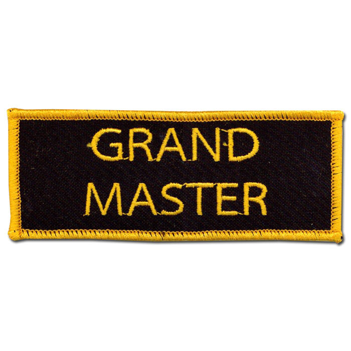 Grand Master Patch (5 Left In Stock)