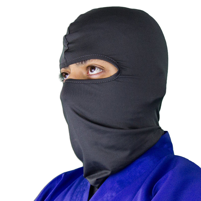 Gray Ninja Face Mask