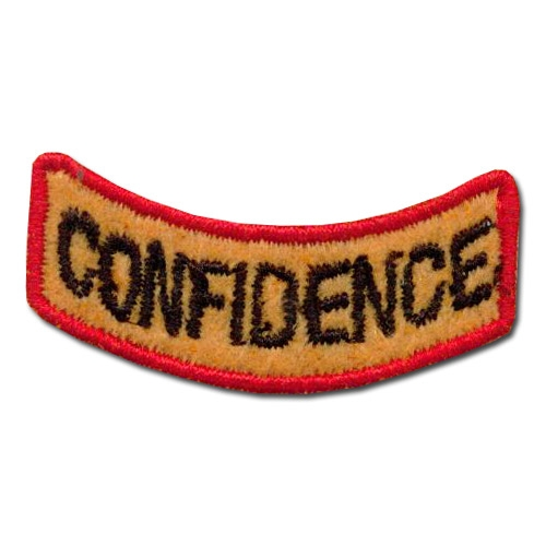 Great Confidence Award Patch