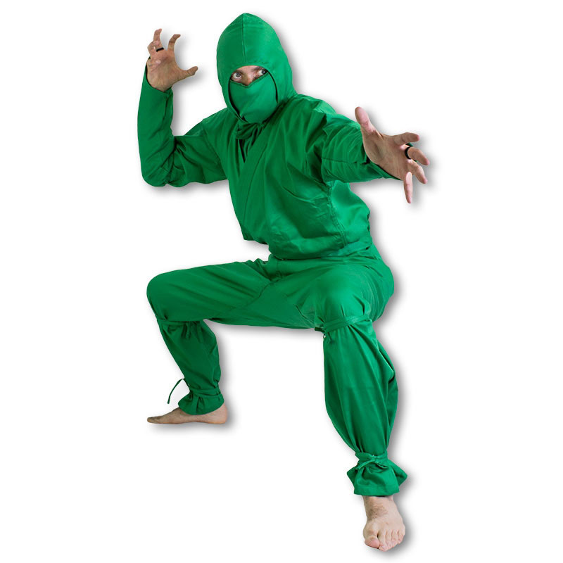 Green Ninja Uniform  sc 1 st  KarateMart & Green Ninja Morph Suit Costume - Green Ninja Halloween Outfits ...