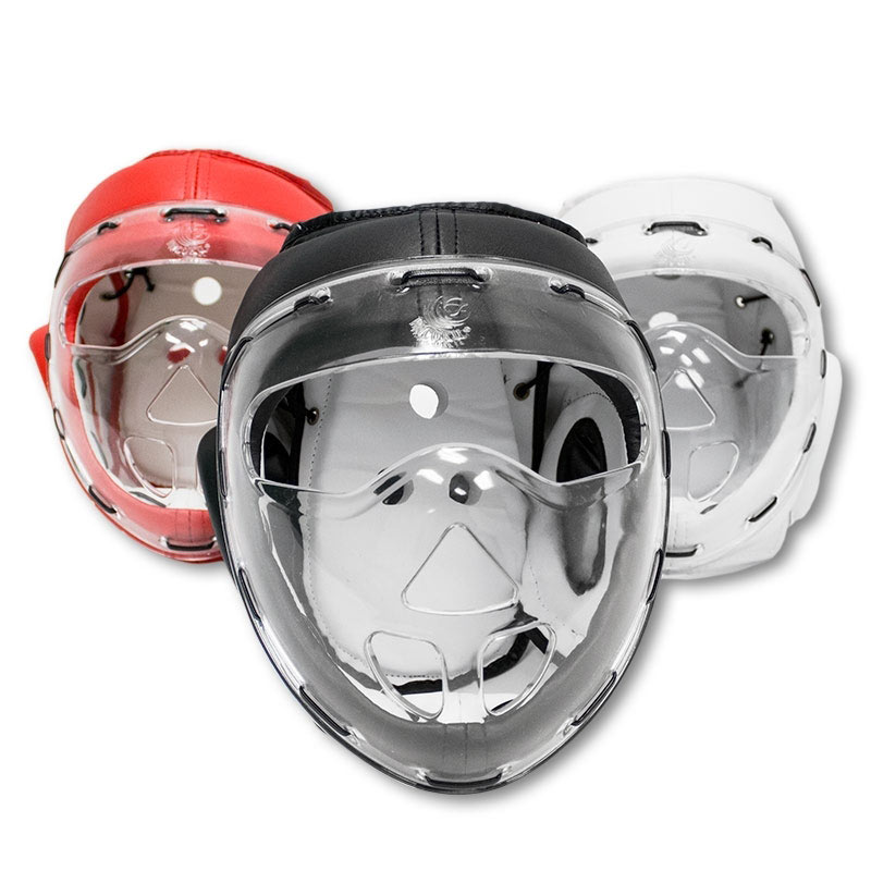 Headgear with Clear Shield