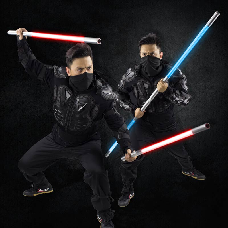 High-Impact LED Saber Staff