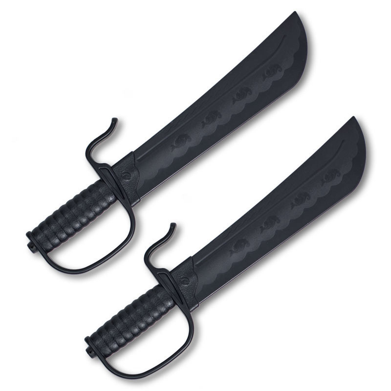 Indestructible Plastic Butterfly Swords (Pair)