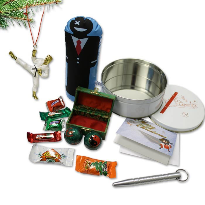 Instructor Christmas Gift Set - Karate Christmas Present Pack - Martial Arts Teacher Gifts Kit