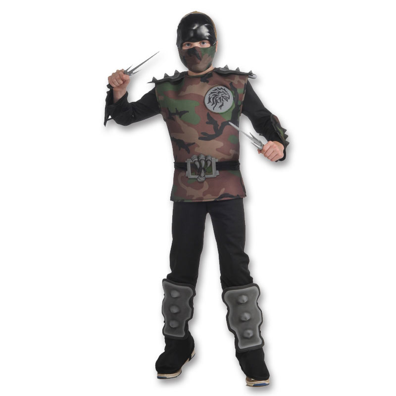 Jungle Camo Ninja Costume