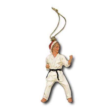 Karate Christmas Ornament